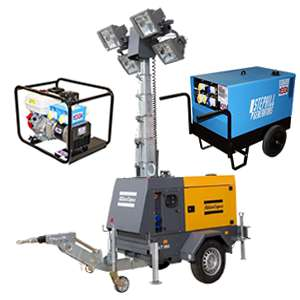 Generators, Welders and Light Towers