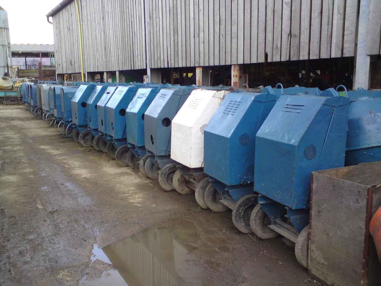 Benford Winget Lister Concrete Cement mixers (150 litres )