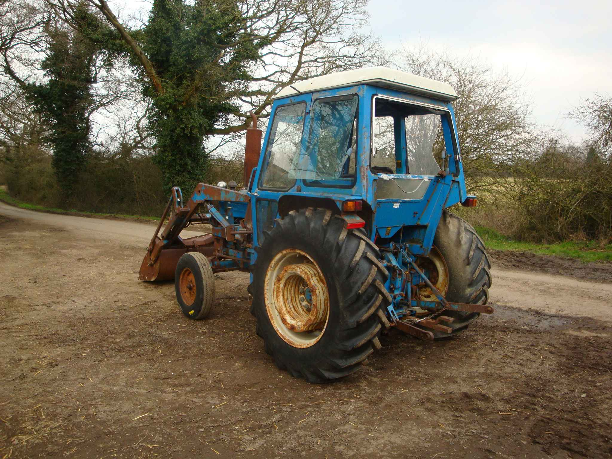 Ford 4600 2 Wheel Drive Tractor Bruce Atfield