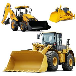 Bulldozers, Backhoes and Loading Shovels